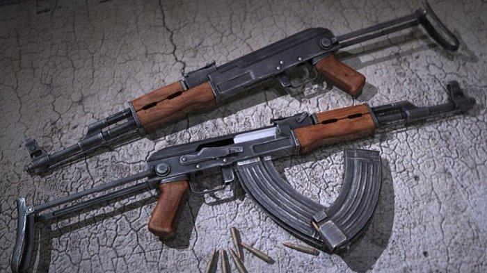 SENJATA serbu AK-47.