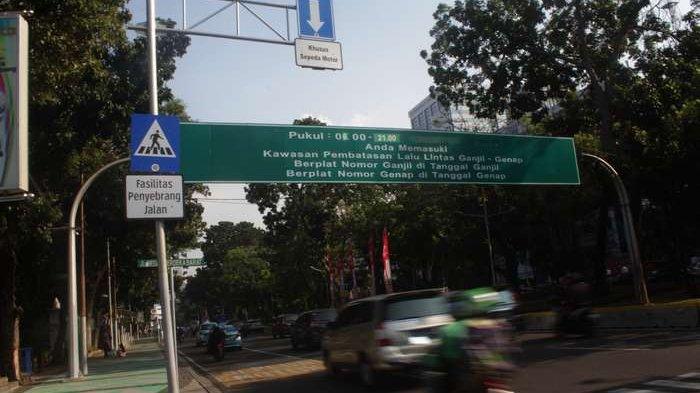 Tilang Elektronik Ganjil Genap di Jalan Sudirman-Thamrin Diberlakukan Awal Mei 2019