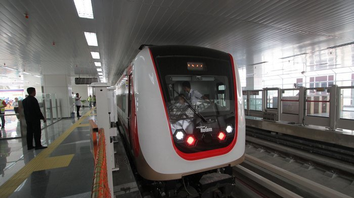 Sensasi LRT Jakarta, Singkat dan Senyap