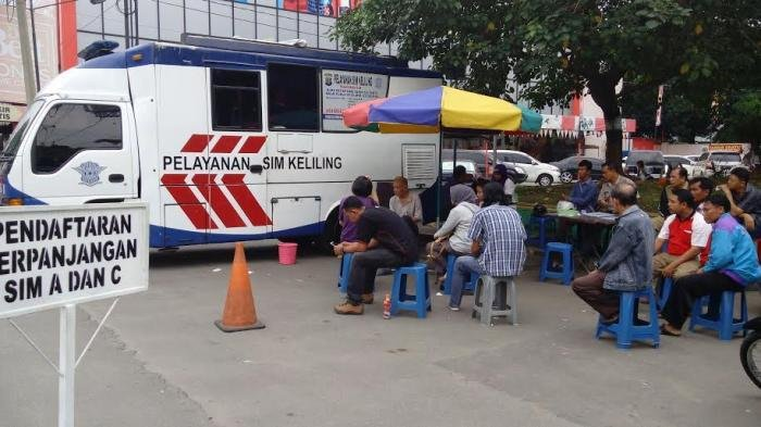 Mau Perpanjang SIM? Ini Lokasi Mobil SIM Keliling di Jakarta Hari Minggu (14/7/2019) di Tiga Tempat