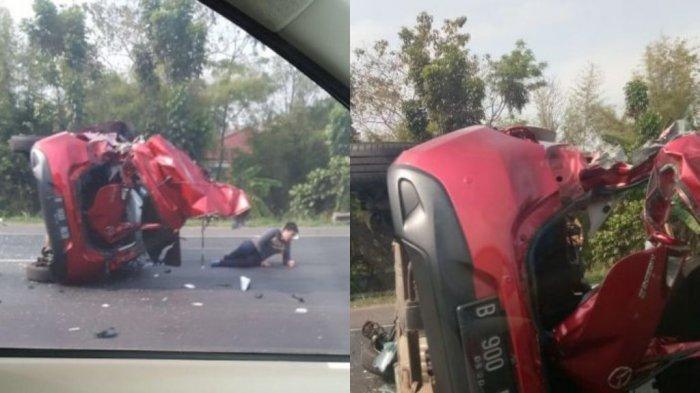 Tabrakan Beruntun di Tol Tangerang Diduga karena Menyalip di Bahu Jalan