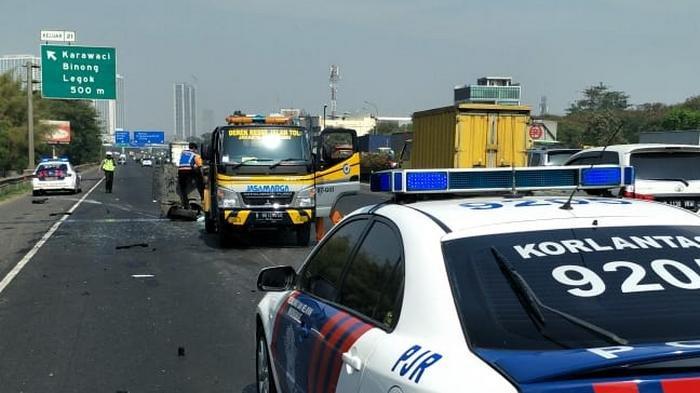 Lalu Lintas Tol Tangerang Mengalami Kemacetan Parah