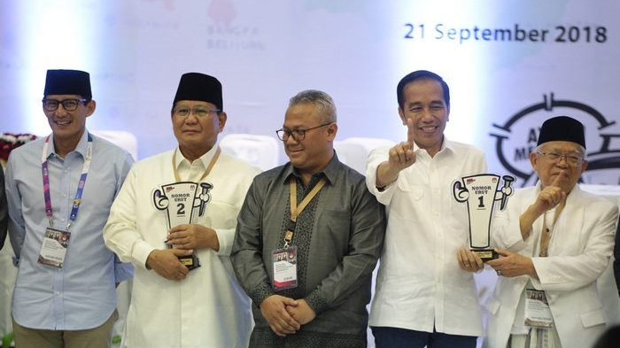 Dana Kampanye Awal Prabowo-Sandi Rp 2 Miliar, Kubu Jokowi Curiga Sisanya Disimpan di Kardus