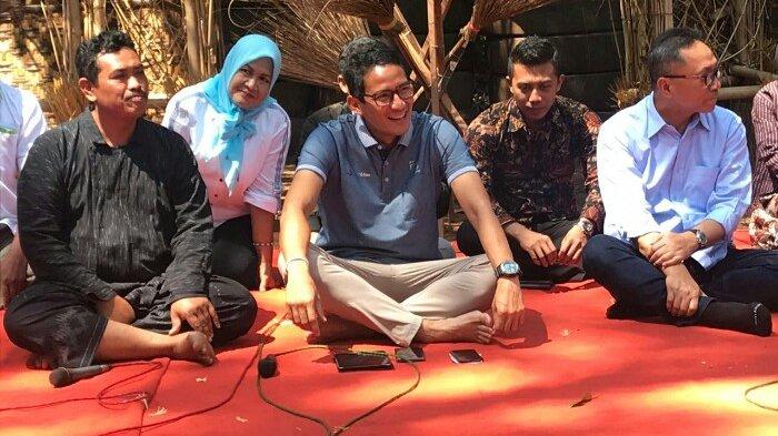 Sandiaga Uno Kunjungi Desa Wisata Kandri Semarang, Ini Nasehatnya