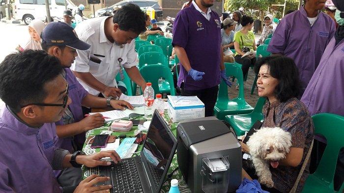 Tahun 2019 Sudin KPKP Jakarta Barat  Targetkan 6.000 Hewan Diberi Vaksin Rabies