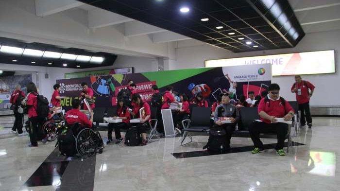 Sudah 2.919 Atlet Asian Para Games Tiba di Bandara Soekarno-Hatta