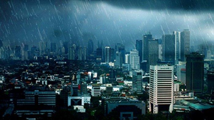 Prakiraan Cuaca Jumat 9 April 2021, BMKG Keluarkan Peringatan Dini Potensi Hujan Petir di 2 Wilayah