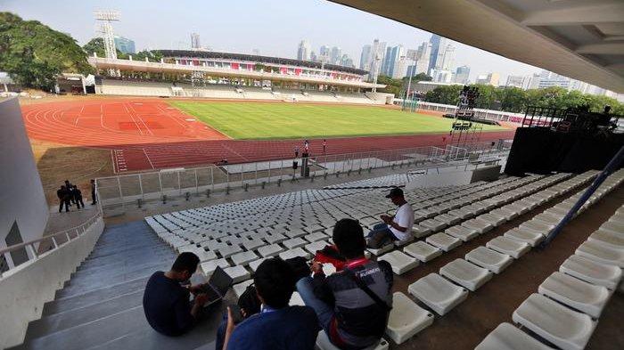 Timnas Jalani Latihan, Pengelola Kompleks Gelora Bung Karno Berbenah