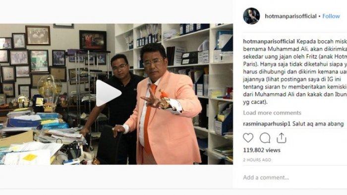 Giliran Hotman Paris Minta Tolong Netizen Temukan Muhammad Ali