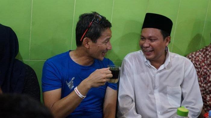Sandiaga Uno dan Kisah Sukses Warung Kopi Azzahra di Makasar