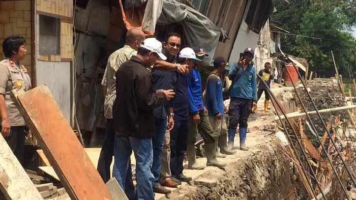 Anies Baswedan Tegaskan Normalisasi Harus Terus Dilakukan untuk Mengentaskan Banjir