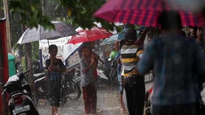 Cuaca Rabu 25 Desember 2019 Hujan Guyur Jakbar, Jakpus, Jaksel, dan Jaktim Siang Nanti Diikuti Bogor