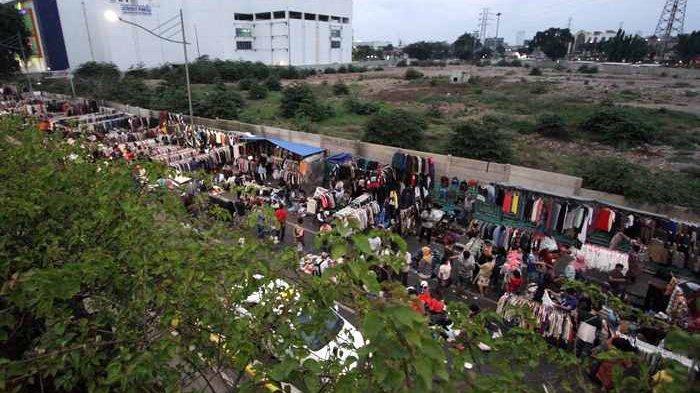 Pedagang Menyebut Relokasi ke Pasar Metro Atom Merupakan Penggusuran