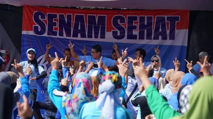 Sandi Goyang Dua Jari, Ibu-ibu Kota Malang Histeris