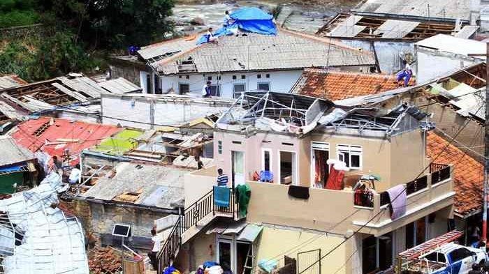 Warganya Kena Angin Puting Beliung, Wali Kota Bogor Minta Bantuan Pemprov Jawa Barat
