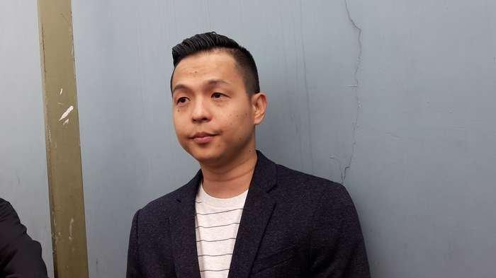 Ernest Prakasa di TransTV, Jalan Kapten Tendean, Mampang Prapatan, Jakarta Selatan, Jumat (7/12/2018).
