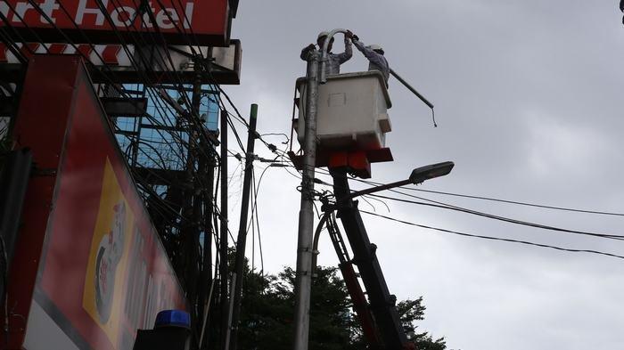 7.570 Lampu Penerangan Jalan di Kota Bekasi Padam, Dianggarkan Perbaikan Rp 1,5 Milyar