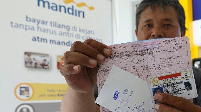 BERITA FOTO: Bank Mandiri Kerjasama dengan Kejari Bayar Tilang Online