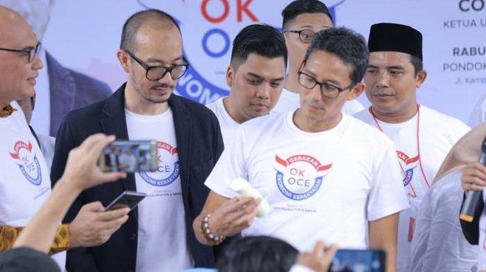 Sandiaga Uno: Anggota GERAK OK OCE Indonesia di Luar Jakarta Sudah 12 Ribu