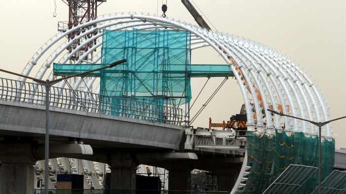 Progres LRT Jabodebek Baru 58,3 Persen, Pengadaan Lahan jadi Kendala