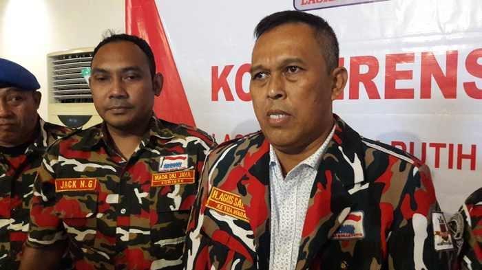 Laskar Merah Putih Bantu Bawaslu Informasikan Pelanggaran Spanduk Kampanye