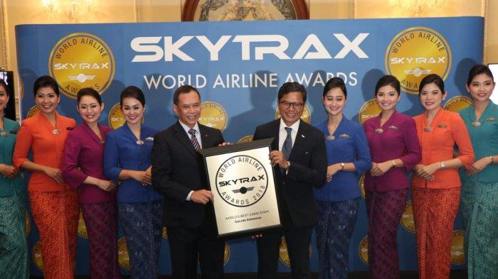Garuda Indonesia untuk Kelima Kalinya Dapat Penghargaan The Best Cabin Crew di London