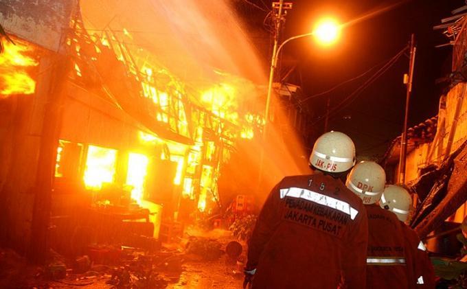 Musim Kemarau,  Pasar di Kota Bogor Rawan Kebakaran