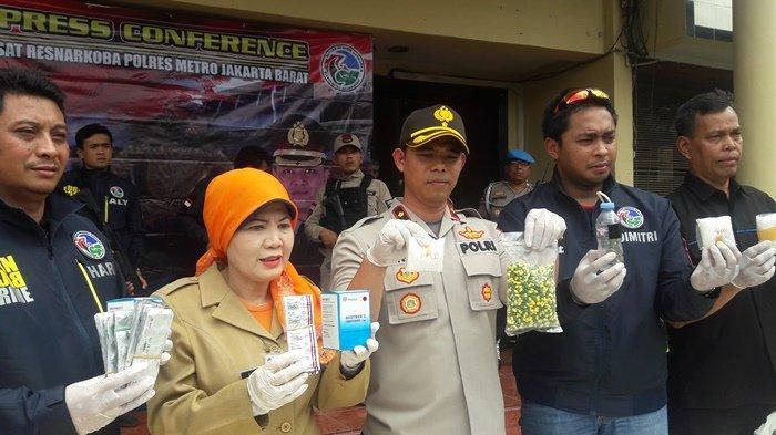 3 Pengedar Narkoba Diamankan Polsek Kembangan Jakarta Barat