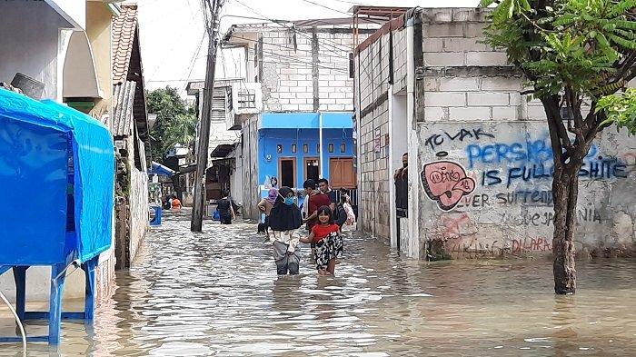 Ada 53 Titik Banjir di Rawa Buaya Dampak Meluapnya Kali Angke, Berikut Ini Lokasi Pengungsian Warga