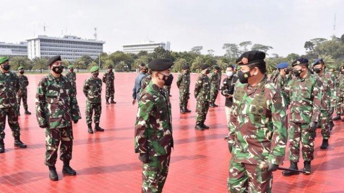 Daftar Lengkap Mutasi dan Promosi 104 Pati TNI, Promosi Kolonel Menjadi Bintang Satu Mendominasi