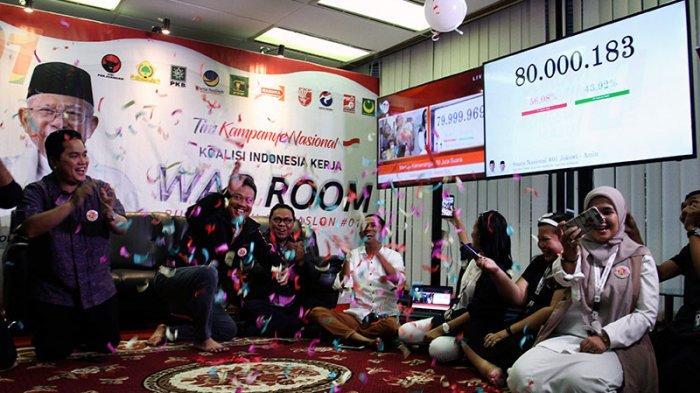 Besok TKN Jokowi-Maruf Amin Dibubarkan