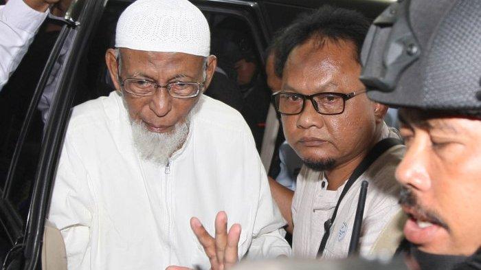 Jokowi Belum Terima Surat Permohonan Grasi dari Abu Bakar Baasyir