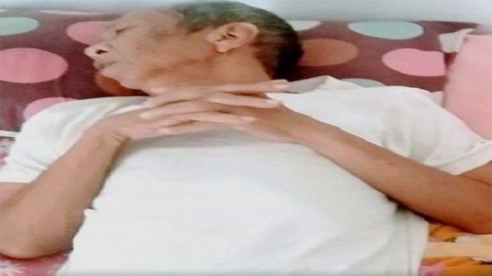 Tiga Bulan Sakit Ada Penyumbatan di Otak,Pak Ogah di Cerita Si Unyil Terbaring Tak Berdaya