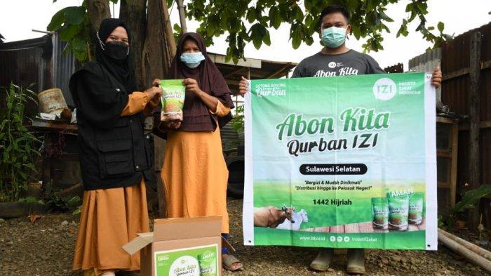 Daging Kurban Olahan Abon IZI Siap Disalurkan ke Seluruh Indonesia