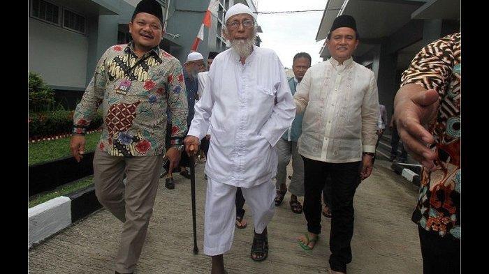 Setelah Abu Bakar Ba'asyir Bebas, Presiden Jokowi Diminta Kaji Status Terpidana Lain