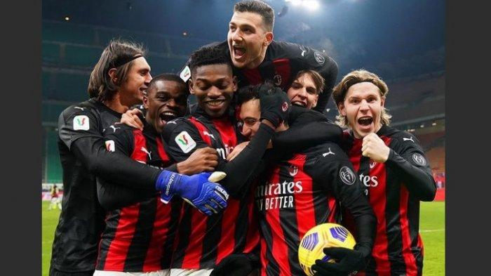 AC Milan Jadi Tim Pertama Lolos ke Perempatfinal Coppa Italia Usai Kalahkan Torino via Adu Penalti