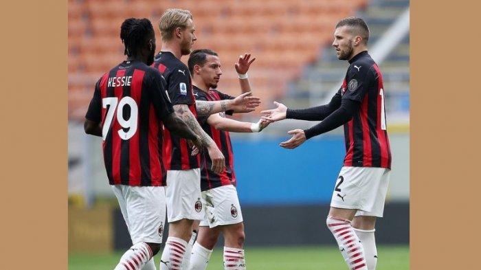 Prediksi LIne Up dan Live Streaming AC Milan vs Sassuolo, Milan Wajib Menang