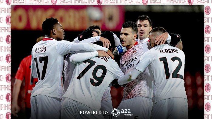 Sedang Berlangsung AC Milan vs Crvena Zvezda 1-1, Gol Franck Kessie Dibalas Gol Ben Nabouhane