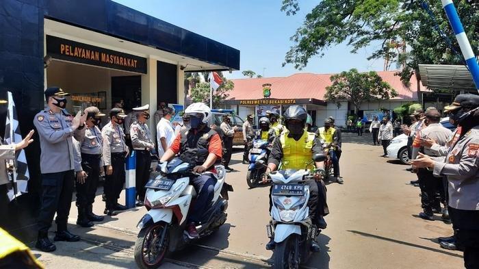 Polrestro Bekasi Kota Berdayakan 200 Masyarakat Jadi Relawan Penegak Disiplin Covid-19