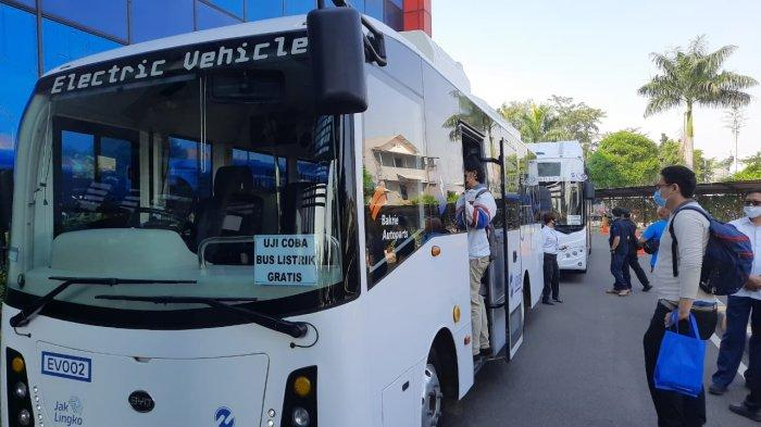 PLN Unit Induk Disjaya Dukung Penuh Anies Baswedan Mengoperasikan 100 Unit Bus Listrik Transjakarta
