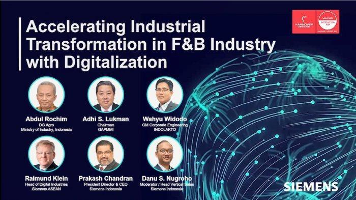 Hannover Messe 2021, Siemens Dukung Transformasi Digital Sektor Mamin Indonesia Menuju Industri 4.0