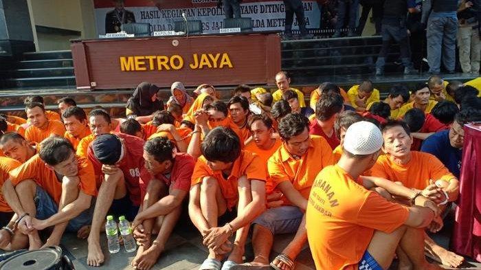 Ada 243 Penjahat di Wilayah Polda Metro Jaya Dibekuk, 4 Orang Terpaksa Ditembak