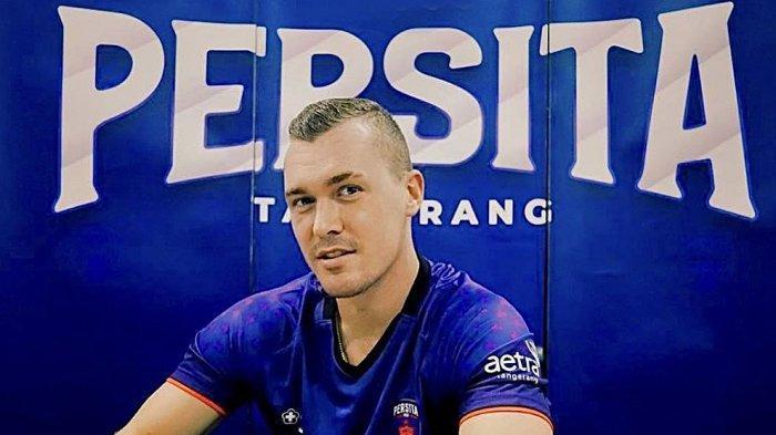 Adam Mitter bek Persita Tangerang ingin bawa timnya ke peringkat yang lebih baik di kompetisi Liga 1 mendatang