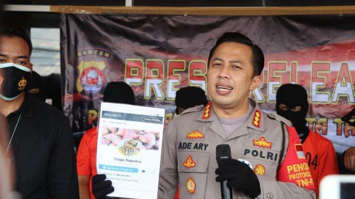 Kapolresta Tangerang Kombes Pol Ade Ary Syam Indradi.