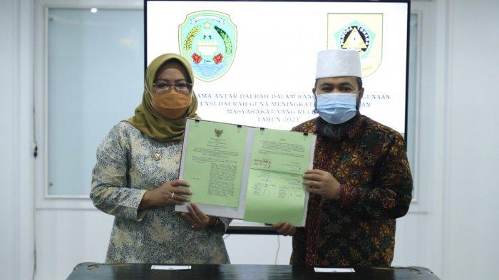 Kerjasama Bareng Kabupaten Bogor, Wali Kota Bengkulu: Saat Ini Era Kolaborasi, Bukan Saling Bersaing