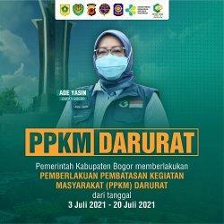PPKM Darurat di Kabupaten Bogor, Mal, Tempat Ibadah Ditutup Sementara, Makan di Restoran Dilarang