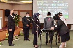 Ade Yasin Merotasi 181 Pejabat, Menuntut Bekerja Profesional dan Inovatif