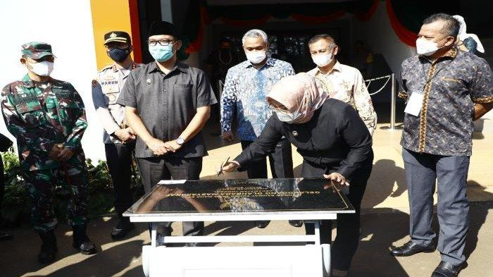 Bupati Bogor Ade Yasin Harapkan GOR Jonggol Jadi Titik Tolak Budaya Olahraga Masyarakat Meningkat