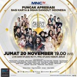 Saksikan Anugerah Dangdut Indonesia 2020 Malam Ini Karena Bakal Ada Banyak Kejutan