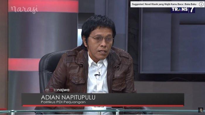 Tanggapi Tulisan Adian Napitupulu, Barikade 98:Katanya Pro-Demokrasi, tapi Kelakuan Kaya Oligarki